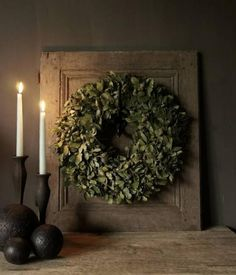 Vardagsrum - Titta på het_stoere_woonhuis - Lilly is Love Noel Christmas, Christmas Wreaths, Halloween Season, Wreaths For Front Door, Diy Wreath, Natural Living, Trees To Plant, Jute, Decorating Your Home