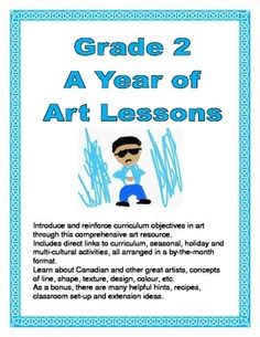 Introduce and reinforce curriculum objectives in art through this comprehensive art resource.  Includes direct links to curriculum, seasonal, holiday and multi-cultural activities, all arranged in a by-the-month format.  Learn about Canadian and other great artists, concepts of line, shape, texture, design, colour, etc.