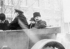 Leon Trotsky and Adolph Joffe arriving at Brest-Litovsk for negotiations, December Brest Litovsk, Bolshevik Revolution, Imperial Russia, Red Army, Soviet Union, Wwi, Communism, Socialism, Collection