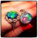 #opal cocktailrings