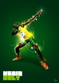Usain Bolt Workout, Usain Bolt Running, Ussain Bolt, Usain Bolt Photos, Boys Room Wallpaper, Shred Workout, Athletic Events, Lifestyle Sports, Humorous Animals