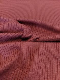 Light Weight Modal Rib Knit - Mulberry – Sitka Fabrics