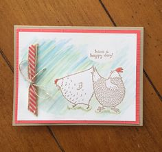 Stampin'Up!, Hey, Chick!, Happy Day