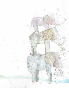 mixed-media art and illustration