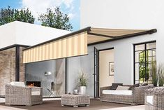 The patio and balcony awning *markilux 5010*