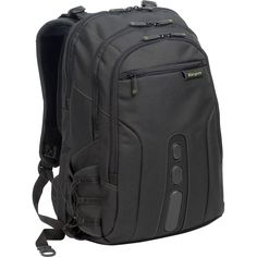 "b84c803896a9 Show details for 17"" Spruce™ EcoSmart® Checkpoint-Friendly Backpack Laptop  Carrying Case"