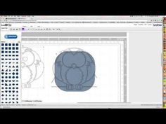 ▶ How to Transform a JPeg into a Cutting File - ScanNCut - YouTube