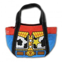 Disney Toy Story Woody clothes Linen handbag (Imported from Japan)