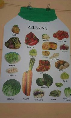 Zelenina Fall Crafts, Diy And Crafts, Crafts For Kids, Working With Children, Kids Nutrition, Preschool Activities, Eye Makeup, Healthy Living, Crafty