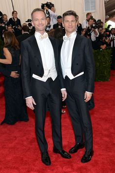 Neil Patrick Harris and David Burtka The duo looked sharp in Ermengildo Zegna.
