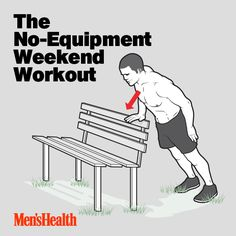 Build muscle anywhere, anytime with this no-equipment needed workout: http://www.menshealth.com/fitness/weekend-workout?cid=soc_pinterest_content-fitness_july14_noequipmentworkout