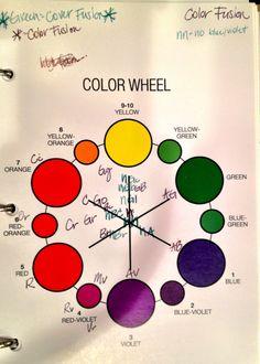 Redken Color Fusion Color Wheel