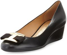 Ninna Leather Wedge Pump. This is a great style.