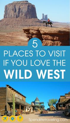 5 Places You Should Visit in The USA if You Love The Wild West #TravelDestinationsUsaArticles #TravelDestinationsUsaWest