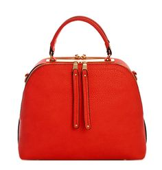 Milan Double Side Satchel With Long Strap