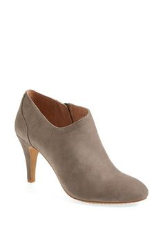 Everyone needs a little grey bootie, right?  Vince Camuto 'Vala' Bootie (Nordstrom Exclusive) (Women) available at #Nordstrom