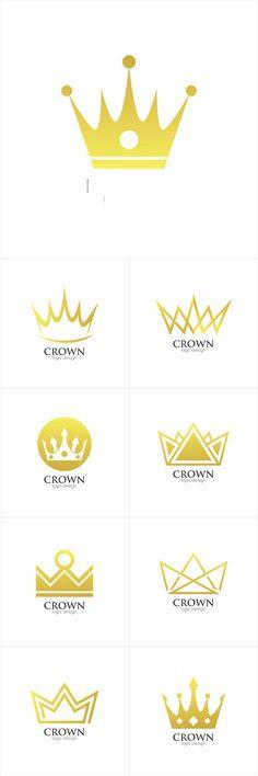 Vectors - Crown Creative Concept Logo Design Template