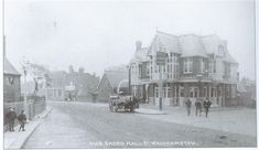 Lord Brooke, Shernhall Street, Walthamstow, c 1900 London History, Local History, Vintage London, Old London, Local Pubs, Ol Days, Good Ol, Lord, Architecture