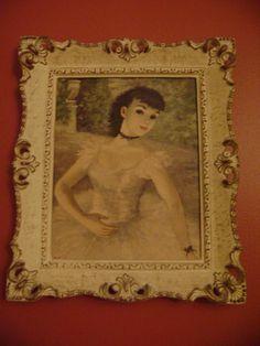 Vintage Cherry Jeffe Huldah Print Avant Le Rideau by EclecticGals, $50.00