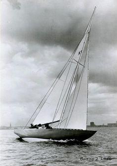 1956 Buzzy II 6 metre Yacht Builders