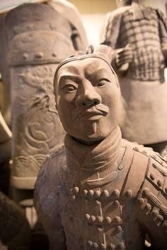 Visiting China on a G Adventures trip. A terracotta warrior guards the tomb of Emperor Qin Shi Huang in Xi'an, China. Ancient China, Ancient Art, Ancient History, Terracotta Army, Ange Demon, China Art, China Travel, Chinese Culture, Borneo