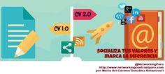 Por qué migrar al #CV 2.0 vía @NetworkingParo