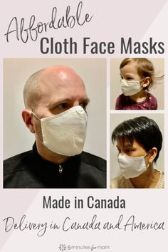 Where to buy affordable cloth face masks online for delivery in Canada and the US. Family Safety, Mask Online, Making Faces, Call To Action, I Pay, Diy Mask, Mask Making, Saving Money, Dental