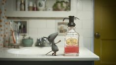 A house is visited by a clean, organized and well-mannered guest.  CREDITS Director / Animator / Writer / Designer / Compositor / Editor: Max Porter & Ru Kuwahata Music Composer / Sound Designer: Bram Meindersma  Musicians: Simone Aarnink, David Beukers & Tymen Bergman CG Rigger: Brian Horgan & Will Walker Funding: Marcella Brenner Grant