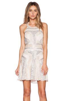 Parker- Leona Sequin Dress in Blush #REVOLVEclothing