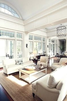 Traditional Living Room Design, Pictures, Remodel, Decor and Ideas - love the windows, ceilings and built-ins. Description from pinterest.com. I searched for this on bing.com/images