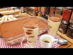 Tiramisu amit imádni fogsz / Szoky konyhája / - YouTube Bourbon, Tiramisu, Glass Of Milk, Panna Cotta, Deserts, Sweets, Baking, Ethnic Recipes, Youtube