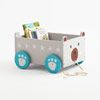 Book Storage Cart - Mr Bear - Clifton Study Space - Create The Look Storage Cart, Book Storage, Childrens Rugs, Fox Face, Study Space, Cute Fox, Beautiful Wall, Toy Boxes, Our Kids