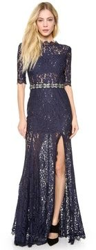 One by femme d'armes Bailey Lace Gown on shopstyle.com