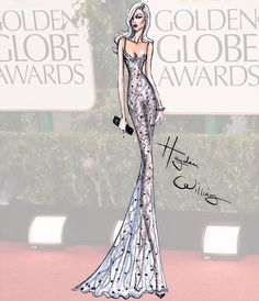 #GoldenGlobes Couture 2015 by Hayden Williams