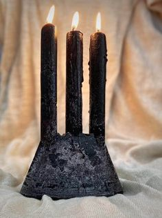 Black Trident Candle by Okra Candle, a local brand creating 3D design inspired handpoured candles in Somerset West. Somerset West, Trident, Okra, Essential Oil Blends, 3d Design, Furniture Decor, Birthday Candles, Fun, Inspiration