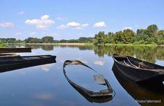 Magnifiques reflets de Loire à Candes-Saint-Martin (Indre-et-Loire) - #ValdeLoire Merci Claudia Laumel - Natur'allemand