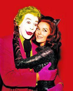 Joker  Catwoman ~Cesar Romero  Lee Meriwether ~ Batman (1966)