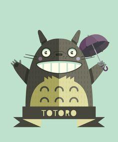Vector Totoro
