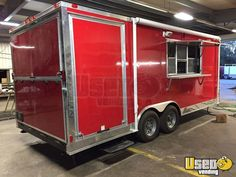 New Listing: https://www.usedvending.com/i/2016-8.5-x-20-Food-Concession-Trailer-with-Porch-for-Sale-in-Georgia-/GA-P-251X 2016 - 8.5' x 20' Food Concession Trailer with Porch for Sale in Georgia!!!