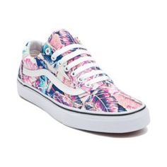 Vans Old Skool Tropical Skate Shoe