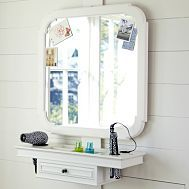 Love this idea for the girl's bedroom since they will be sharing a bathroom.