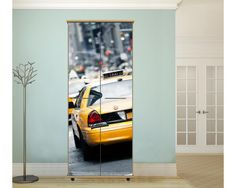 NY yellow cab,αυτοκόλλητο  ντουλάπας Vehicles, Car, Automobile, Rolling Stock, Vehicle, Cars, Autos, Tools