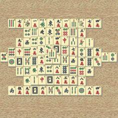 ATENCIÓN y MEMORIA. Mahjong. Encontrar las parejas.