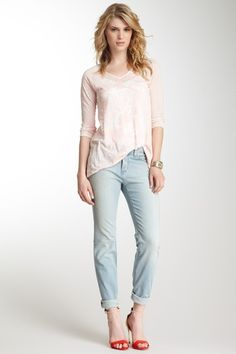 Katie Straight Leg Shaping Jean by Miraclebody Jeans on @HauteLook
