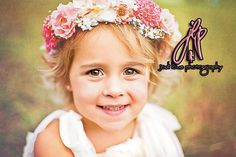 Toddler  preteen Floral halo custom crown by CouturePhantasies, $47.00 Jodi Lowe Photography