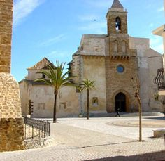 I've actually been in this beautiful church.  Rota, Spain