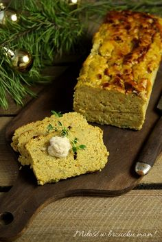 Prosty pasztet z soczewicy Polish Recipes, Polish Food, Nut Loaf, Meatless Monday, Avocado Toast, Gluten Free Recipes, Bakery, Food And Drink, Veggies