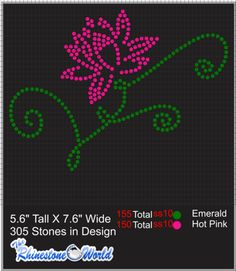 TRW FLOWER 3 Design (File Download Version)