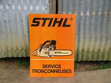 Vintage Stihl Chainsaw Dealer Sign Stihl Chainsaw, Wood Carving, Vintage Antiques, Signs, House, Ebay, Ideas, Wood Sculpture, Home
