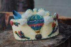 Felt Crown Wool Waldorf Inspired Birthday / by MirthDesignsStudio